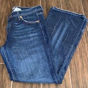 Levi's 518 super low bootcut jeans